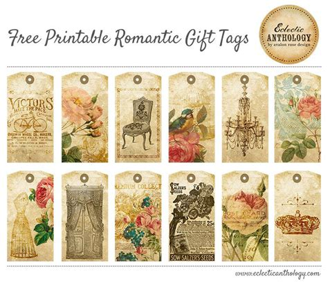 gift tags vintage clipart finders free printable vintage gift tags tons of free