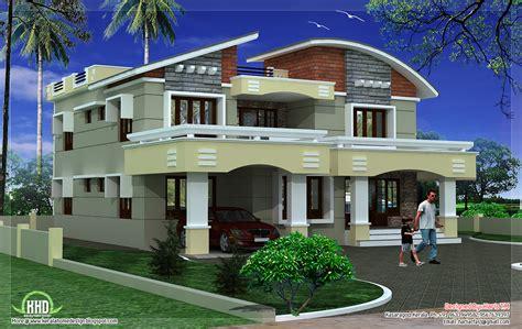 double storey luxury home design kerala house design