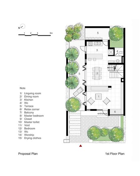 proposed living room floor plan blogged about today epv house ahl architects associates