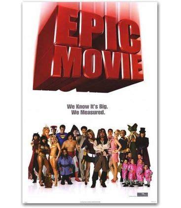 40 epic film essentials epic movie 27 quot x 40 quot affiche pr 233 ventive am 233 ricaine