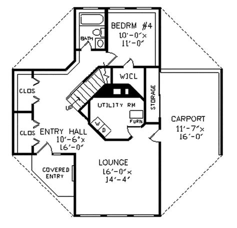 octagon house plan 2 story octagon house plans unique octagonal home