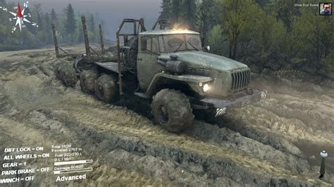 spin tires spintires