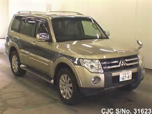 Mitsubishi Pajero 2007 2007 Mitsubishi Pajero Green 2 Tone For Sale Stock No