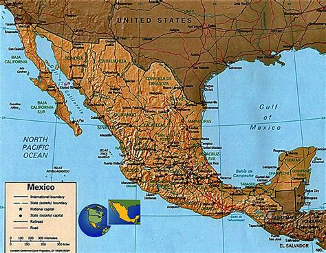 eastern mexico map eastern mexico map