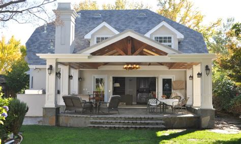 Covered veranda design, covered back porch with patio