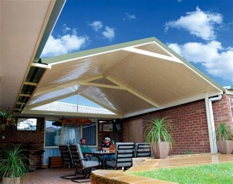 Patio Gable Roof Pitched Gable Patio Range Lysaght Living