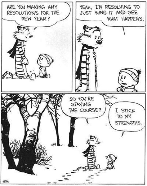 calvin and hobbes new years resolution calvin and hobbes and the epistle of from offshore