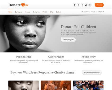 Donatenow Donation Wordpress Theme Themeshaker Com Donation Website Template