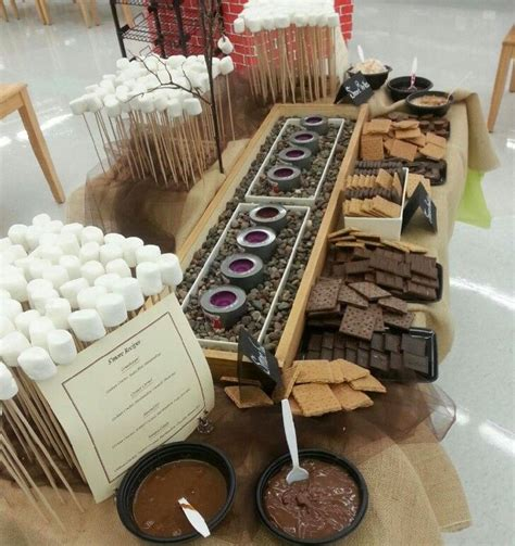 ideas for making smores at the wedding reception google search bridal party ideas