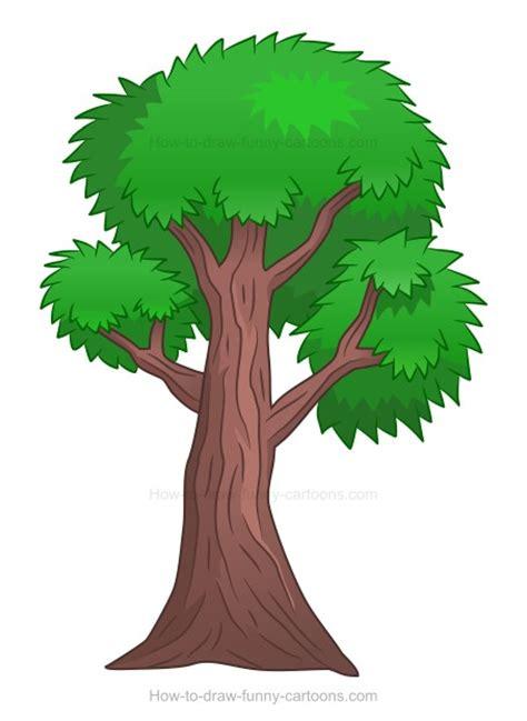 comic tree how to draw a tree