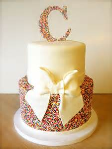 17 best ideas about sprinkle birthday cakes on