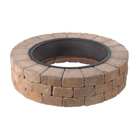 Outdoor Pit Ring Kits by Necessories Grand 48 In Pit Kit In Desert 3500002