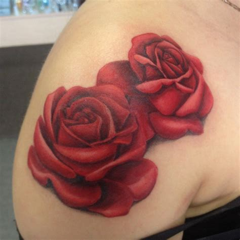 rose realism tattoo realistic by annyanarchystriker on deviantart