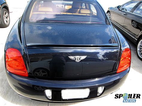 bentley flying spur rear 2005 2013 bentley flying spur sport line rear lip spoiler