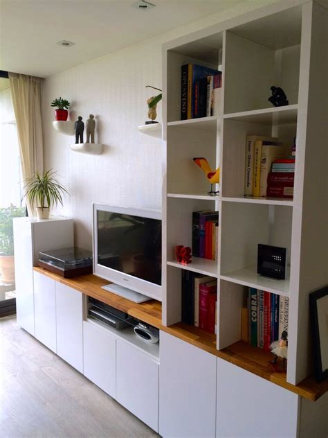 kitchen tv cabinet ikea hackers custom metod tv unit for the home