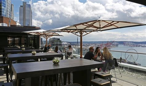 top bars seattle welcome to the most magnificent rooftop bar in seattle the seattle times