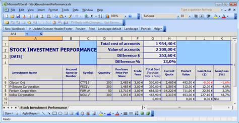 daily stock control report template excel trainingable