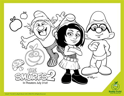 the smurfs 2 activities treats and the latest video game