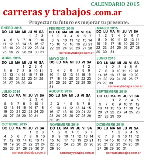 almanaques 2015 calendarios 2015 impresion de almanaques almanaque 2015 feriados en argentina version para imprimir