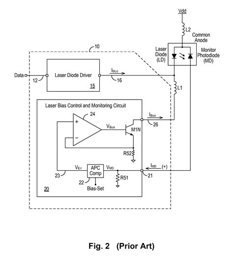laser diode polarity test patent us8320420 polarity independent laser monitor diode current sensing circuit for optical