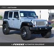 Rubcon Jeep In Silver Bullet  Wrangler Unlimited