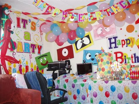 decorating ideas for birthday party at home home design simple birthday room decoration images hello