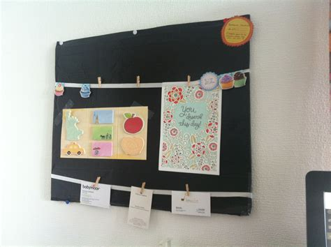 Do It Yourself Un Tableau Organiseur De Bureau Tableau Bureau