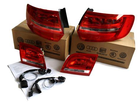 audi  sportback facelift original rueckleuchten set ahw shop vw audi original ersatzteile