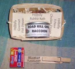 hillbilly gift ideas red neck gag gifts trailor trash