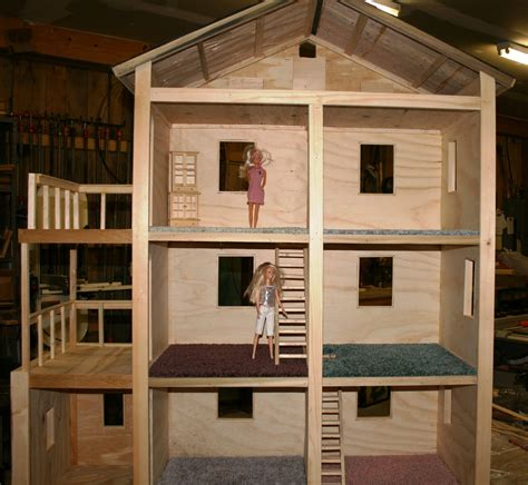 diy house build it sew it love it diy barbie house