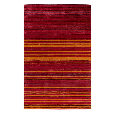stripe rug buy stripe rug wool jute bamboo 130x190cm sun the real rug company
