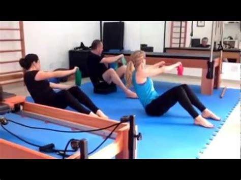 pilates abdominal thera band