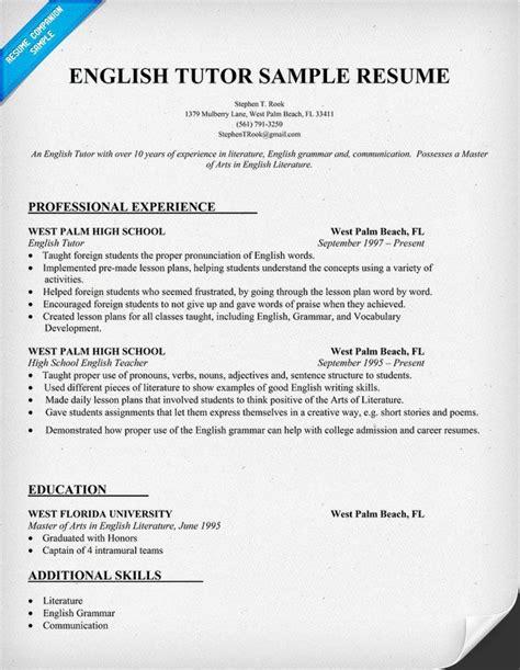 functional resumes for teachers tutor resume sle human resource development resume exles