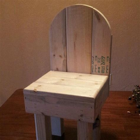 unfinished time  chair wood projects  sell