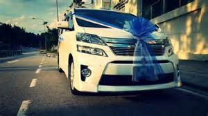 Car Rental Vellfire Malaysia Redorca Malaysia Wedding And Event Car Rental Toyota