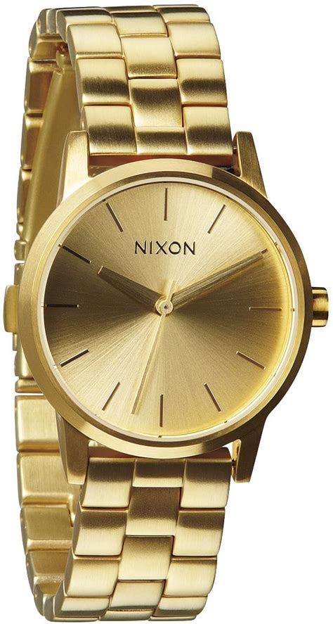 nixon small kensington all gold free shipping