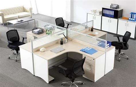 layout furnitur kantor china modern simple design office furniture glass office