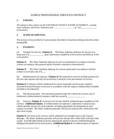 Agreement Letter For Delivery Sle Service Agreement Contract 8 Exles In Word Pdf
