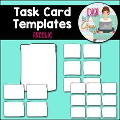 Lynette Task Card Template by 1000 Images About Digi By On Digital
