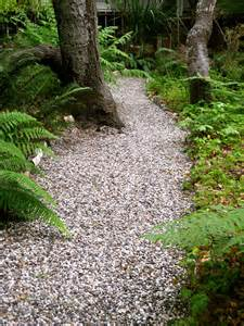 gravel garden path outdoor pinterest