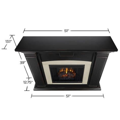 Home Decor Stores Adelaide by Real Flame Adelaide Indoor Electric Fireplace In Black