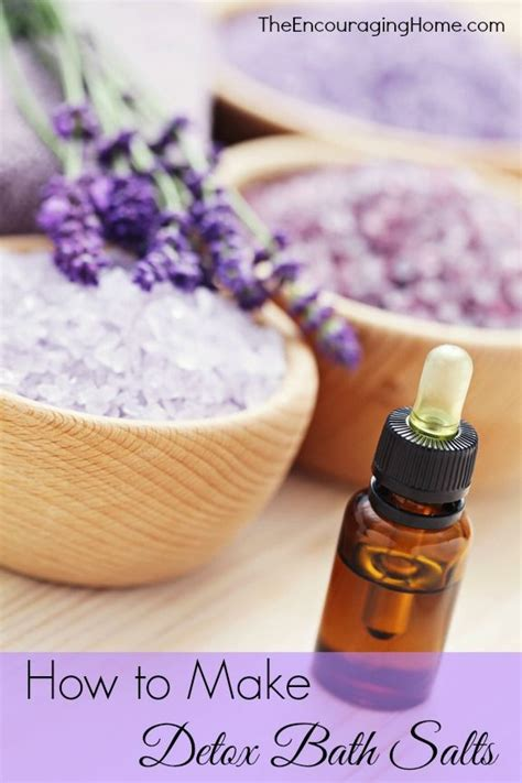 How To Make Your Own Detox Bath by Learn How To Make Detox Bath Salts In Today S