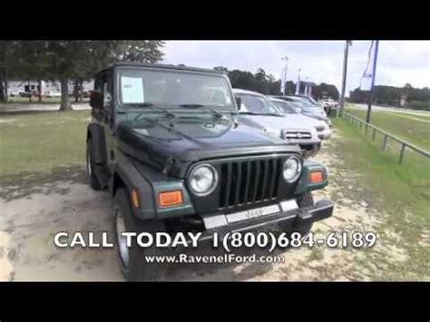 2001 Jeep Sport Reviews 2001 Jeep Wrangler Tj Sport 4x4 Review Car For