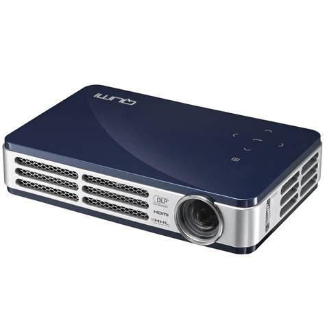 Projector Qumi vivitek qumi q5 bl qumi q5 hd led pocket projector blue tvs electronics tv accessories