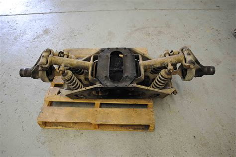 jaguar xke irs e type rear differential 3 31 rear end