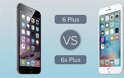 Image result for 6 Plus vs 6s Plus