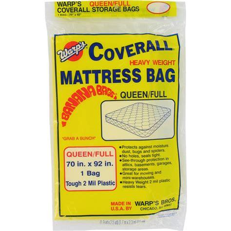 Mattress Storage Bags Walmart by Warps Cb 70 70 Quot X 92 Quot Or Banana Bags Mattress Bag Walmart