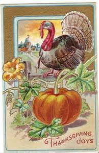 vintage thanksgiving card thanksgiving