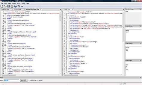 xml editor xml copy editor sourceforge net
