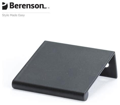 Houzz Kitchen Cabinet Hardware 1056 4055 P Black Finger Pulls By Berenson Hardware